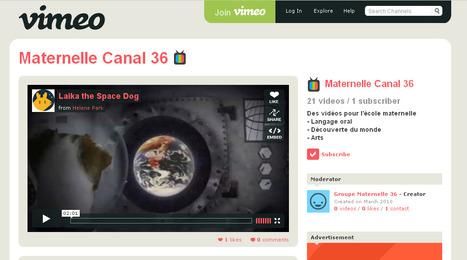 Présentation du Canal 36 - Education aux médias - Langage oral en maternelle   conférence pédagogique   Scoop.it