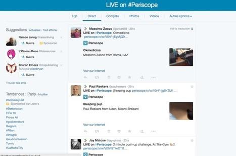 Tout ce que vous devez savoir au sujet de Periscope | Time to Learn | Scoop.it