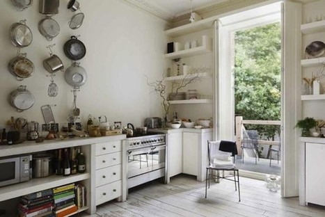 Out of the Closet: 10 Kitchens with Tools on Display: Remodelista | puuta | Scoop.it
