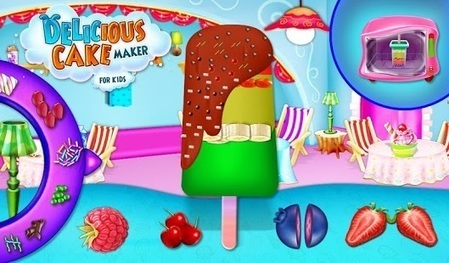 Delicious Cake Maker For Kids – Applications Android on GooglePlay | Free Android Kids Games | Scoop.it