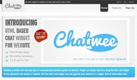 Chatwee: chat gratis en html para tu sitio web | WEBOLUTION! | Scoop.it