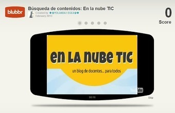 En la nube TIC: Blubbr: Crea cuestionarios interactivos con YouTube | edición de vídeo | Scoop.it