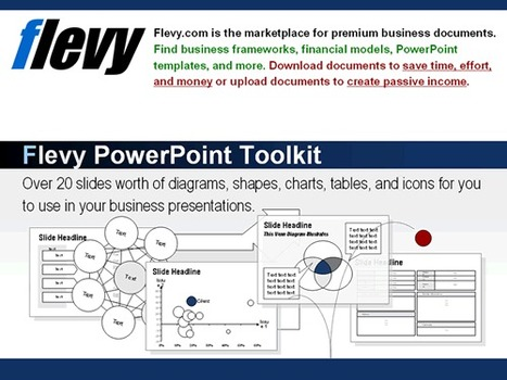 Free Download - PowerPoint Toolkit | PowerPoint Diagrams | Scoop.it