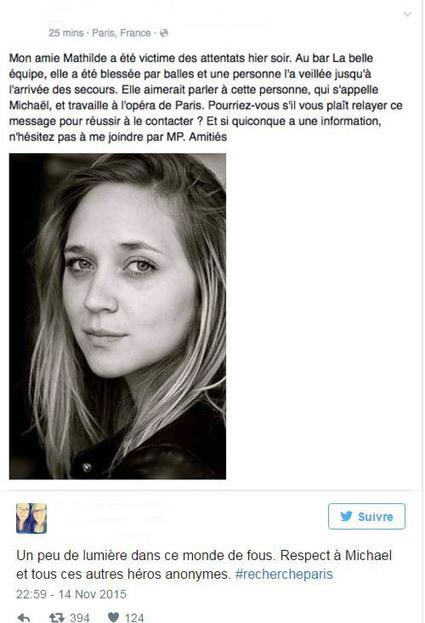 Attentats à Paris : ces héros qui ont sauvé des vies | Au hasard | Scoop.it