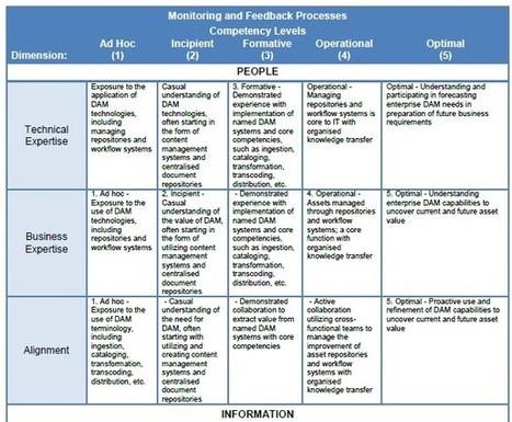 DAM Maturity Model | Maturity Model Enables Audit, Improvement of Digital Asset Management Capabilities | IA-UX | Scoop.it