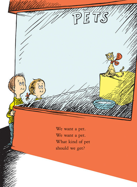 What Pet Should I Get? by Dr Seuss, review: 'genius on every page' | book publishing | Scoop.it
