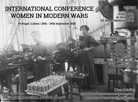 International Conference | Women in Modern Wars | Anaquel de libros, blogs y videos | Scoop.it