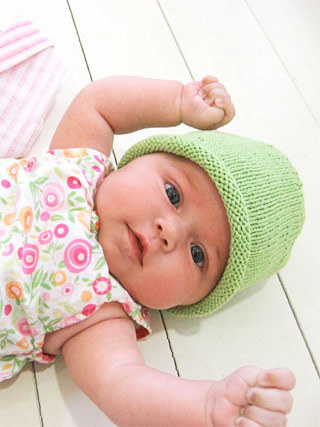 Simple Baby Hat - free pattern – Blue Sky Alpacas | Knitting patterns | Scoop.it