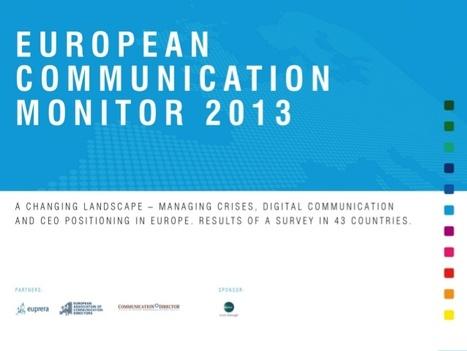 Communication de crise : analyse des résultats de l'étude EACD auprès des entreprises européennes | Com de crise | Scoop.it