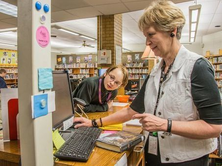 Librarian helps teen find new outlook on life through books | School Library Advocacy | Scoop.it