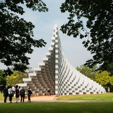 Bjarke Ingels' Serpentine Gallery Pavilion is 'montainous outside and cavernous inside' | D_sign | Scoop.it