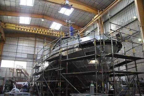 Construction navale. Chantier Gléhen : un deuxième bateau pour la Marine | Ouest France Entreprises | Actu de l'industrie | Scoop.it