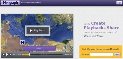 Meograph.com: Crea historias narradas con mapas | Bibliotecas Escolares. Disseminação e partilha | Scoop.it