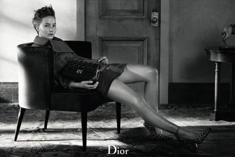 Jennifer Lawrence Sits for Dior Magazine Fall/Winter 2013   Fashion and beauty   Scoop.it