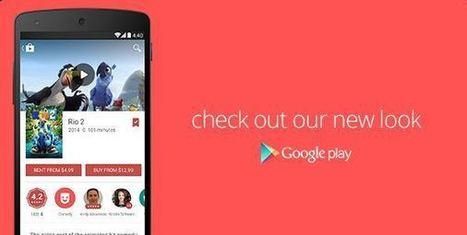 Descarga la nueva versión de Google Play 4.9.13 con nuevo diseño | Todo sobre Android | Scoop.it