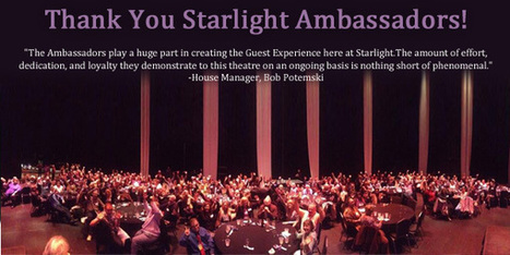 Thank You Starlight Ambassadors! - Starlight Theatre | OffStage | Scoop.it