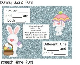 Bunny Word Fun! | Speech-Language Pathology | Scoop.it