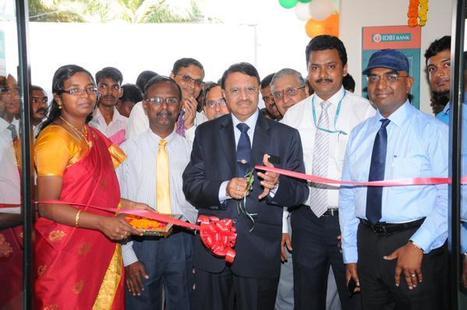 IDBI Bank's CMD Shri M S Raghavan inaugurates new e- lounge at Arumbakkam Branch in Chennai | IDBI Bank | Scoop.it