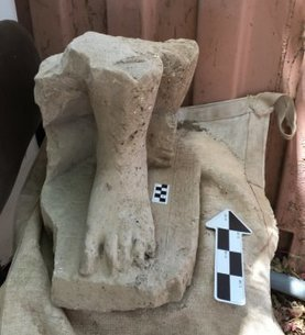 Historic find: A statue of an egyptian official at tel-hazor in israel | Egiptología | Scoop.it
