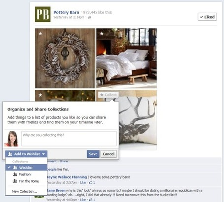 ":: Facebook Introduces Pinterest-Style, Curated ""Collections"" :: 