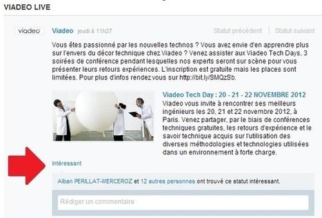 Viadeo lance les actualités Live dans ses pages d'entreprise   Social Media Curation par Mon Habitat Web   Scoop.it