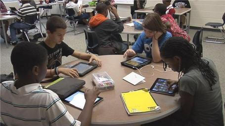 Midlands middle school goes paperless | eLearning News | Scoop.it