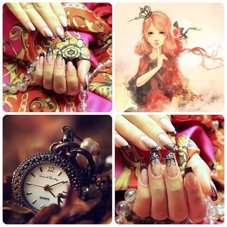 #nails #nail #fashion #style #beauty #beautiful #nailartclub #nailartist #stylish #sparkles #glitter #nailart #art #polish #instanail #nailpolish #nailswag #nailartcult #follow #nailsbyann #ногти #... | The Nail Zone | Scoop.it