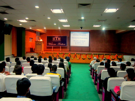Freshers Orientation Day | IITM | Scoop.it