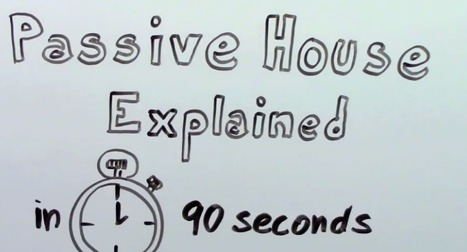 Passive House explained in 90 Seconds   GreenBuilding   Scoop.it