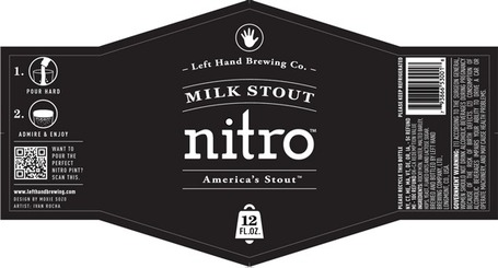 Left Hand Milk Stout Nitro bottles just unveiled | CraftBeer | Scoop.it