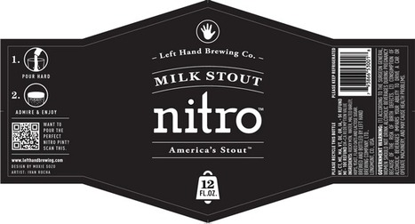 Left Hand Milk Stout Nitro bottles just unveiled | CraftBeer | Scoop.it
