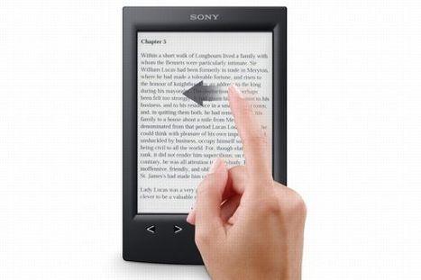 Chapitre.com et Sony s'allient dans le livre numérique | Nouveaux modèles et nouveaux usages | Scoop.it