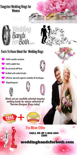 Affordable tungsten rings for woman | weddingbandsforboth | Scoop.it