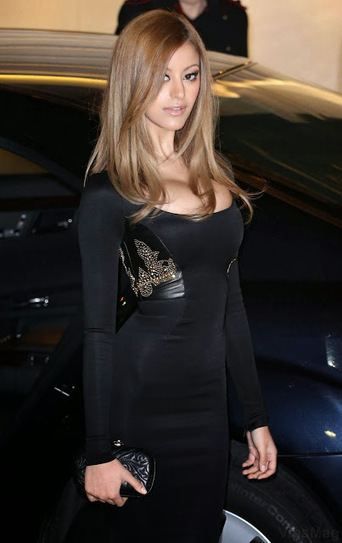 Zahia Dehar in black tight outfit at fashion event in Paris   VipsMag   Sexy Pics   Scoop.it