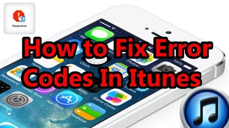 Complete solution to fix 1671 error in iTunes. | iOS device recovery | Scoop.it