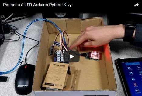 Panneau à LED Arduino Python Kivy | La Technologie au Collège Joachim du Bellay | La technologie au collège | Scoop.it
