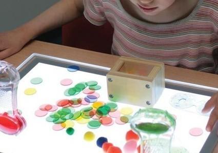 Que faire avec une table lumineuse ? - Blog Hop'Toys | Méthodes éducatives & outils | Scoop.it