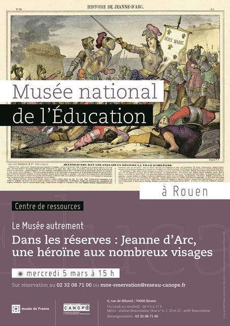 Visite guidée des réserves Mercredi 5 mars 15h   Actualités du Musée national de l'Education (Munaé)   Scoop.it