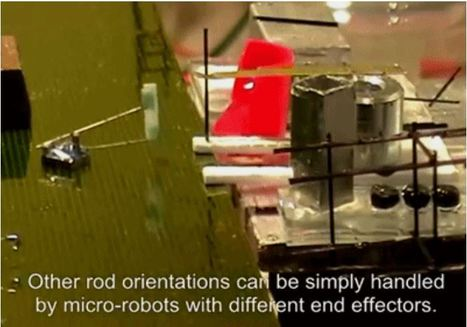 VIDEO: SRI International has developed Micro Robots capable of following Building Instructions | Sci-fi | Scoop.it