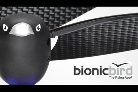 Bionic Bird: A smartphone-controlled flapping-wing device   Indiegogo   Robots in Higher Education   Scoop.it