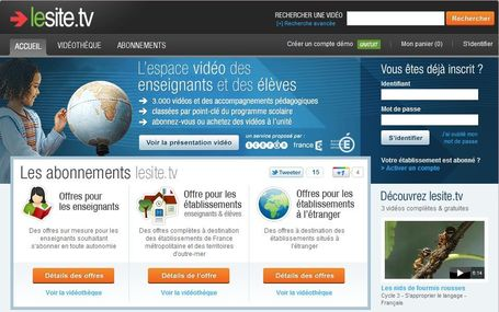 lesite.tv : ressources audiovisuelles, vidéos pédagogiques libres de droits | Teaching in the XXI century | Scoop.it