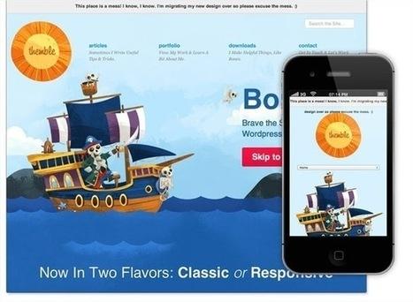 15 frescas plantillas de Wordpress gratis con Responsive Design | WordPress | Scoop.it