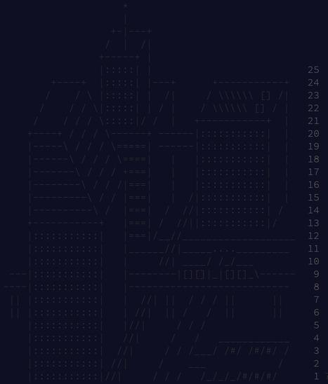 Advent of Code 2016   ASCII Art   Scoop.it