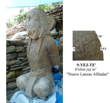 Descifran el glifo maya T514, significa yej (filo) | Arqueología, Historia Antigua y Medieval - Archeology, Ancient and Medieval History byTerrae Antiqvae (Blogs) | Scoop.it