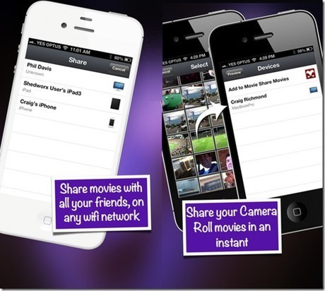 Wirelessly Share Videos Between Mac, iPhone And iPad With MovieShare | Mac And Linux | Scoop.it