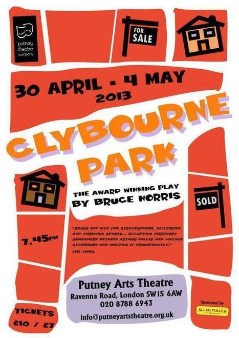 Clybourne Park – Putney Arts Theatre | allie duthie | Putney | Scoop.it