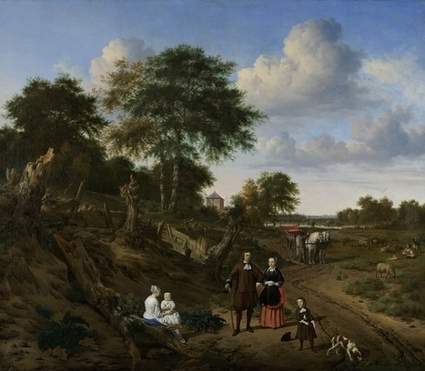 Le Rijksmuseum d'Amsterdam fête Adriaen van de Velde et l'âge d'or du paysage hollandais | Arts vivants, identité européenne - Living Arts, european Identity | Scoop.it