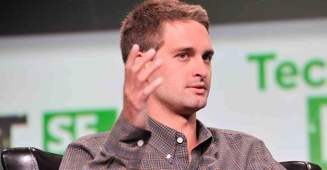 Snapchat's Evan Spiegel Isn't Scaring Off Investors, Despite Mishaps   Social Media Focus   Scoop.it