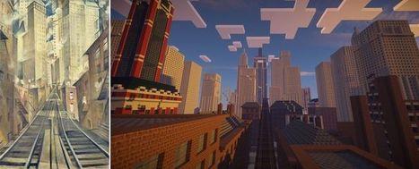 «Minecraft» met la Tate au carré | Expographie, mise en valeur du patrimoine & médiation culturelle | Scoop.it