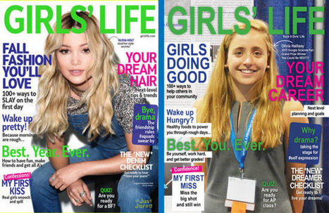 Appalled Graphic Designer Shows Girls' Life Magazine What Their Cover Should Look Like | Response Prompts | Scoop.it